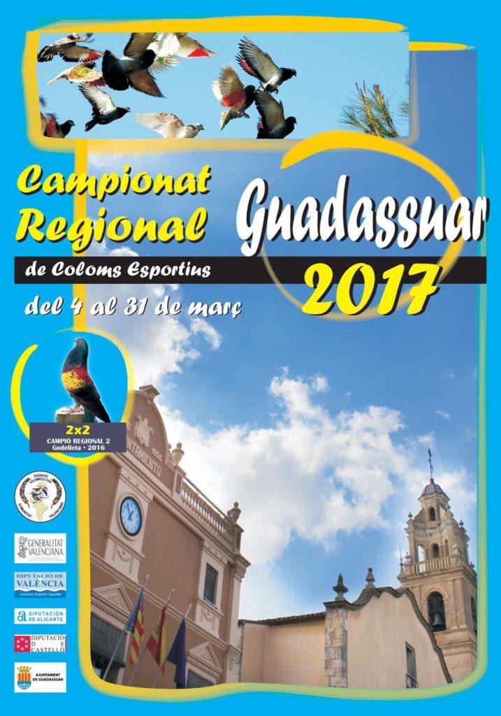 Campionat Regional Colombicultura Guadassuar